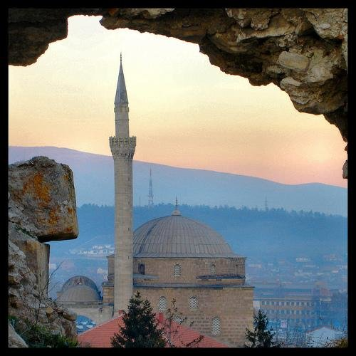 Закат Скопье