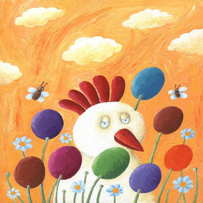 Веселый рисунок красками с ребенком 4 года, поздравления днем рождения