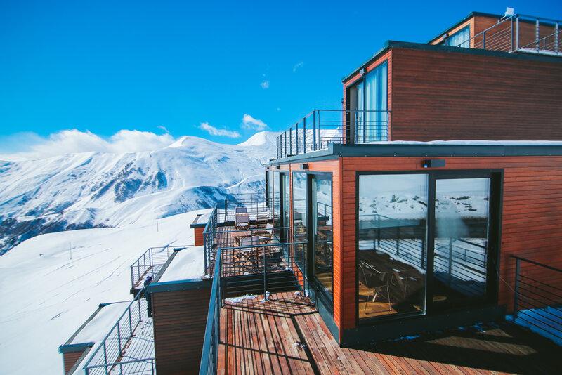 Quadrum Ski&Yoga Resort in Gudauri