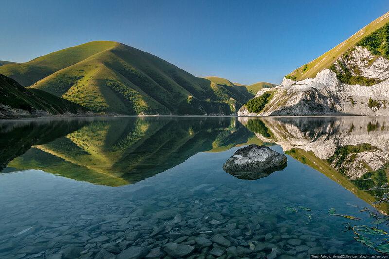 """""""Жемчужиной Чечни"""" - озеро Северного Кавказа"""