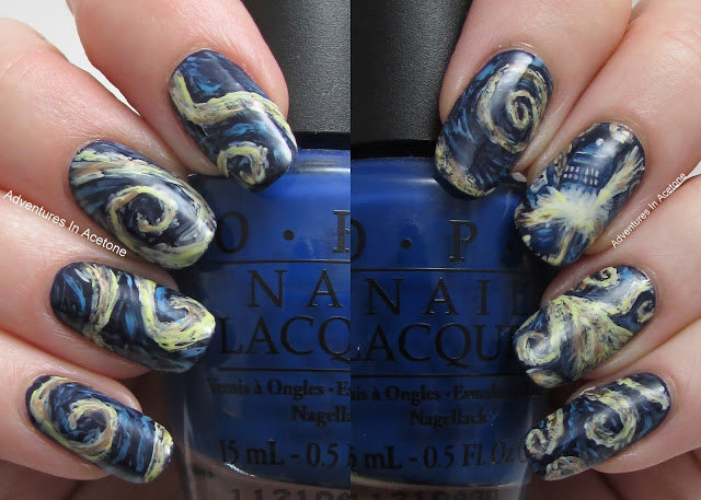 Exploding Tardis Nail Art Colalge1g 640457 Card From User