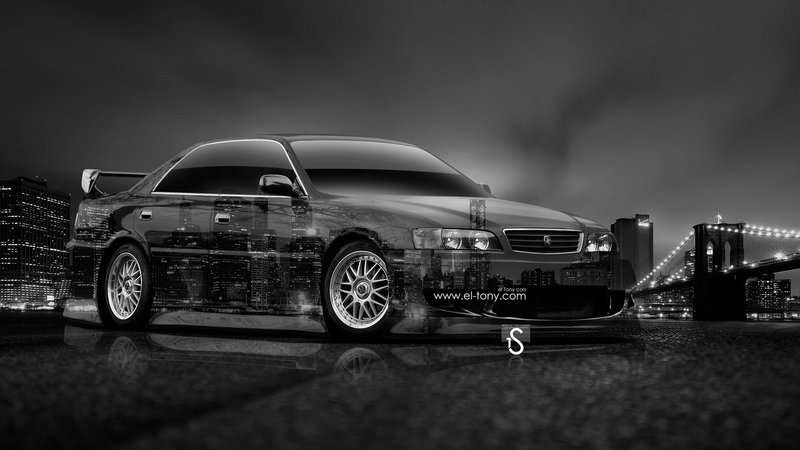 Toyota Chaser JZX100 JDM Front Side Crystal City Car 2014 | El Tony Toyota  Chaser