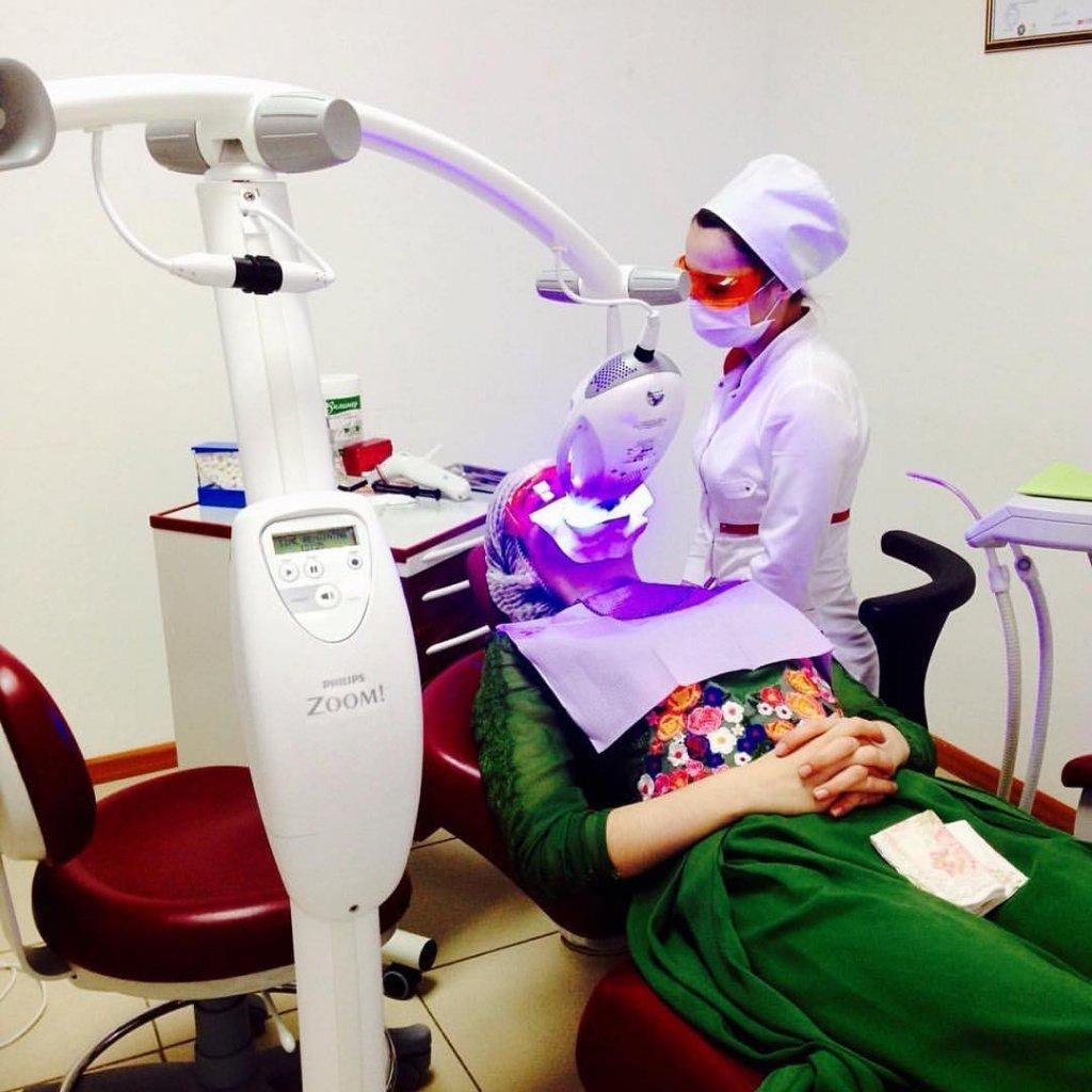 отбеливание зубов кислородом