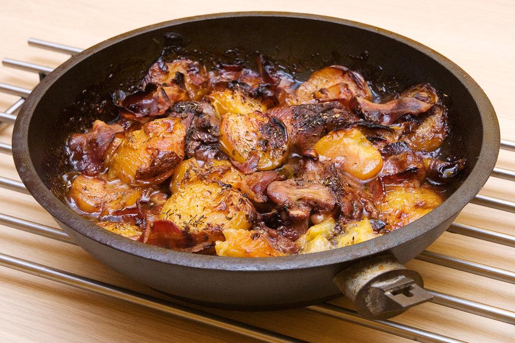 блюда на сковороде рецепты с фото простые