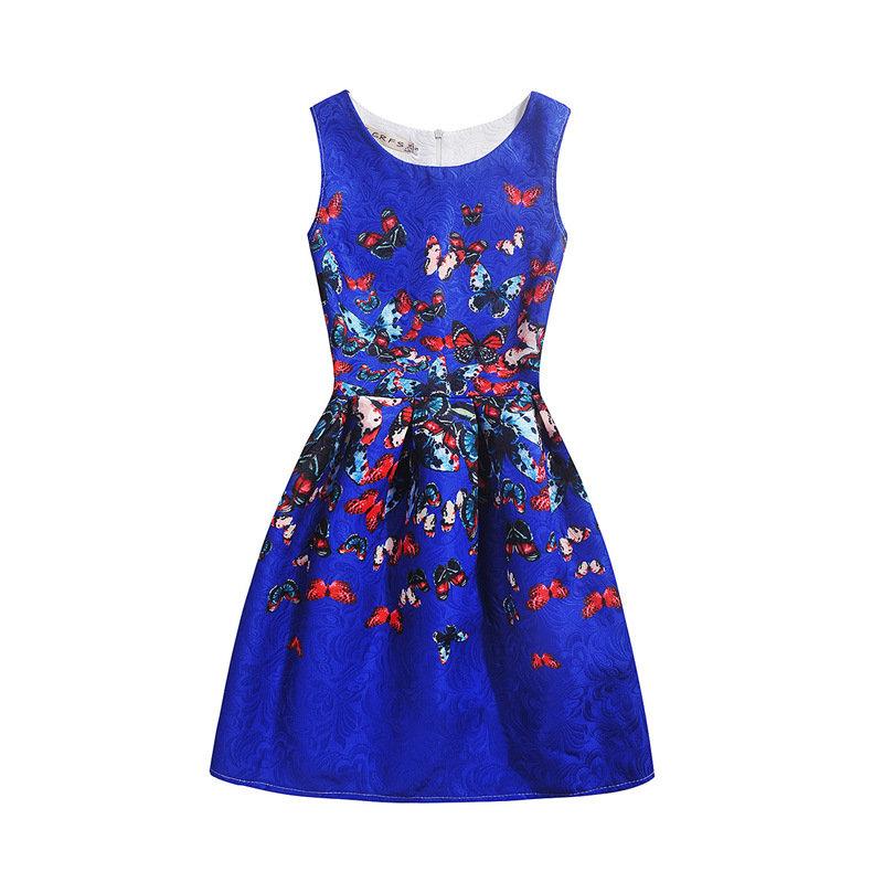 Летние платья для девочек-2017