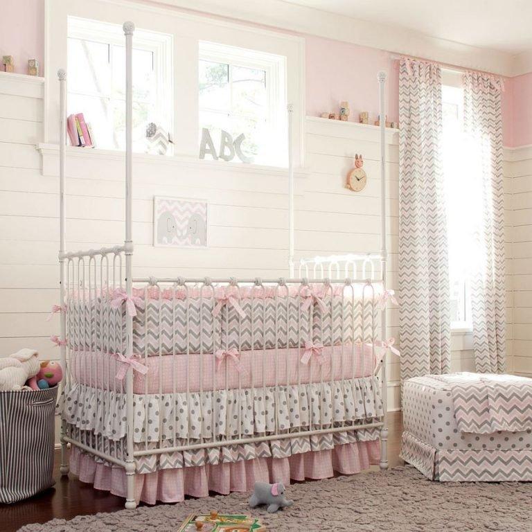 Бортики на кроватку для новорожденных картинки 4