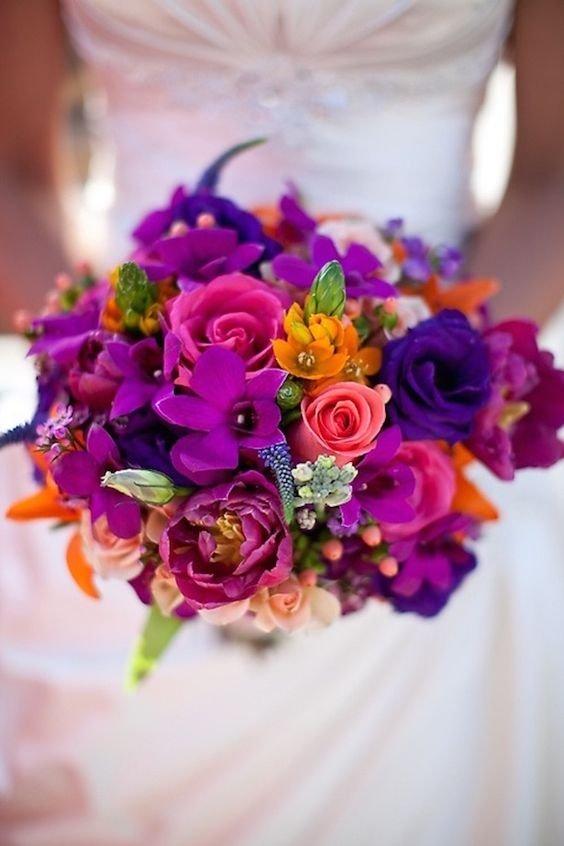 Доставка цветов, лучший летний свадебный букет