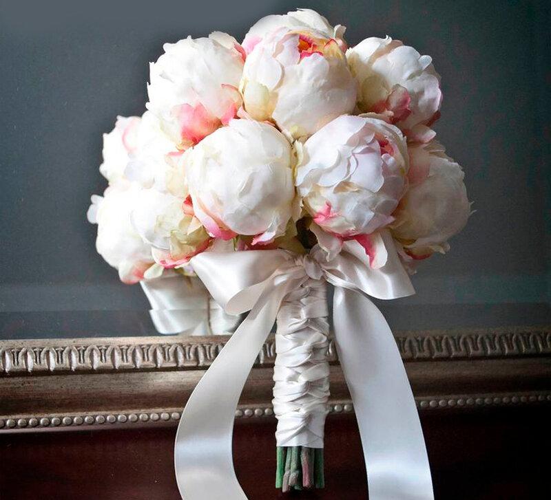 Нежный и трогательный свадебный букет для невесты