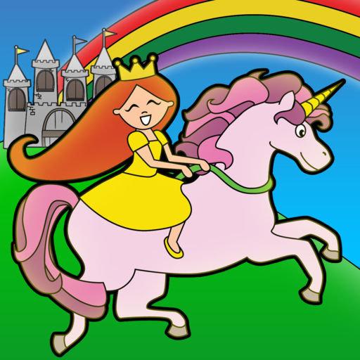 Принцесса сказка раскраска чудес перенесет вас в волшебную ...