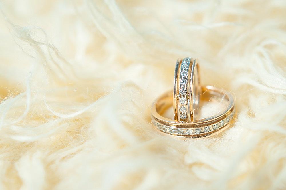 Картинка кольца новобрачных