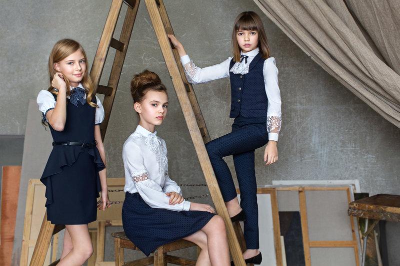 Школьная форма для девочек 2017: модные тенденции