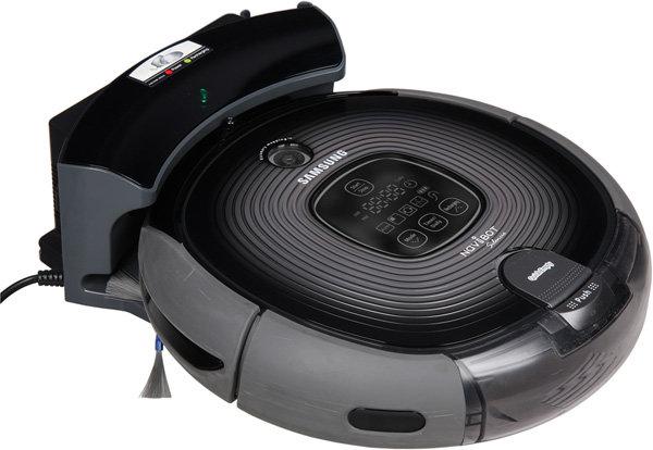 Робот-пылесос Samsung Navibot Silencio SR8895, на базе