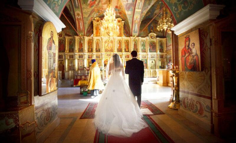 Подбор платья для венчания