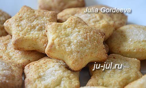 Вкусные печенья с творогом рецепт пошагово