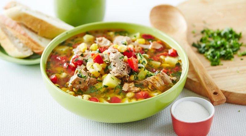Суп из тунца с овощами Неповторимый аромат и  вкус