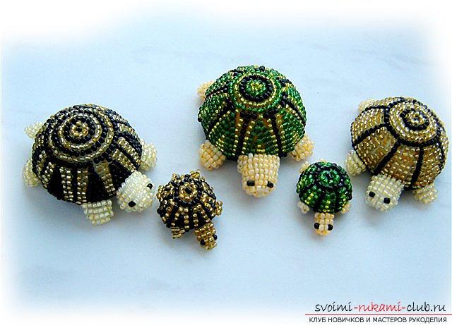 Игрушки из бисера схемы плетения объемные.