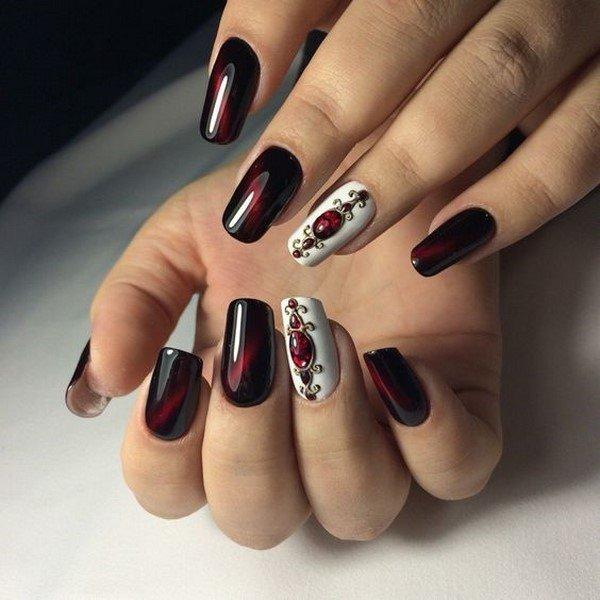 Самый шикарный маникюр на ногтях