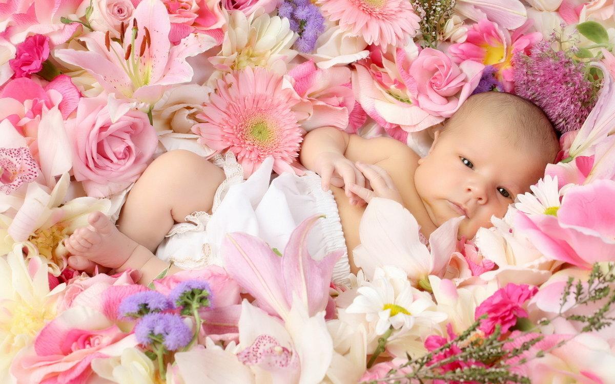 Ткани, картинки с новорожденным девочкой фото