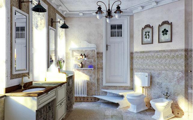 Прованс - это сочетание простоты отделки и внимание к ярким деталям.