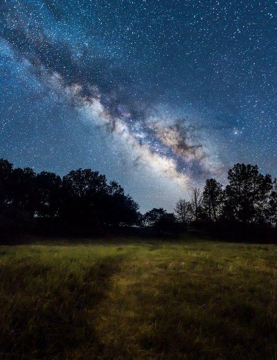 ночное небо астрофото юрист