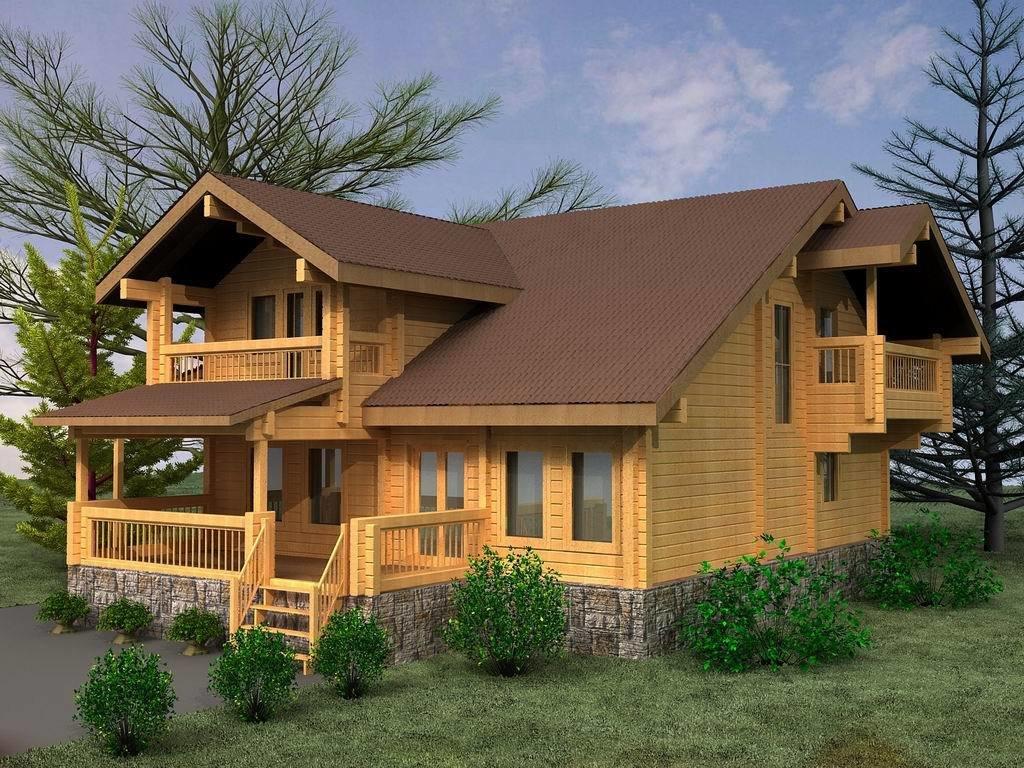 Картинка проект дома из бруса