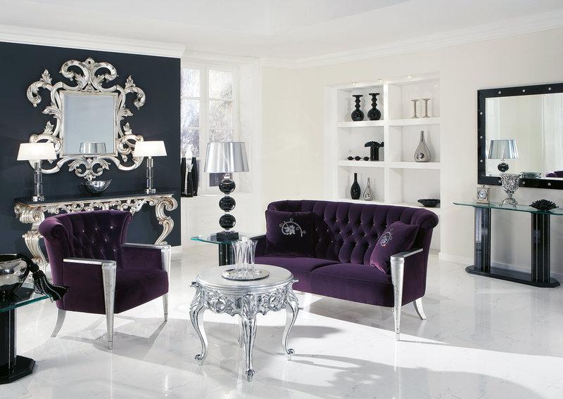 Невероятный дизайн гостиной в стиле маньеризм