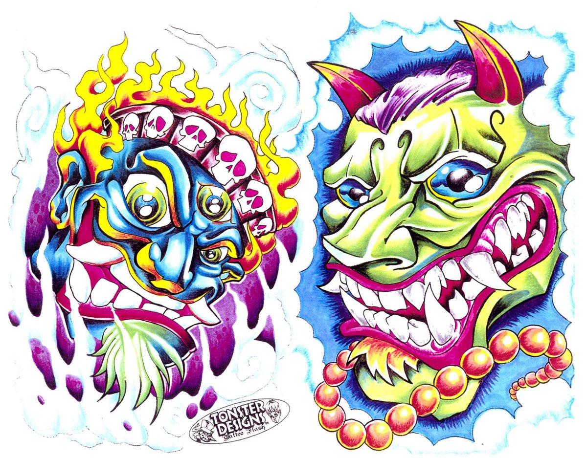 Татуировки цветные в картинках