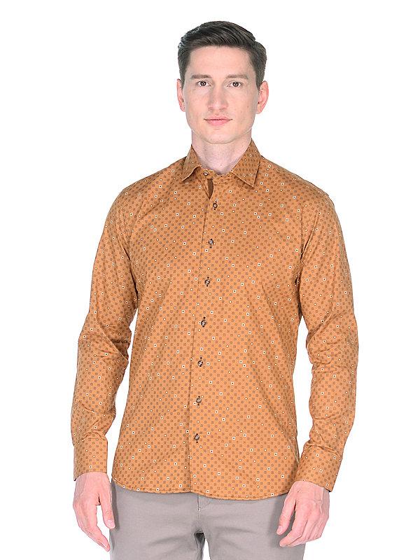 модные приталенные мужские рубашки