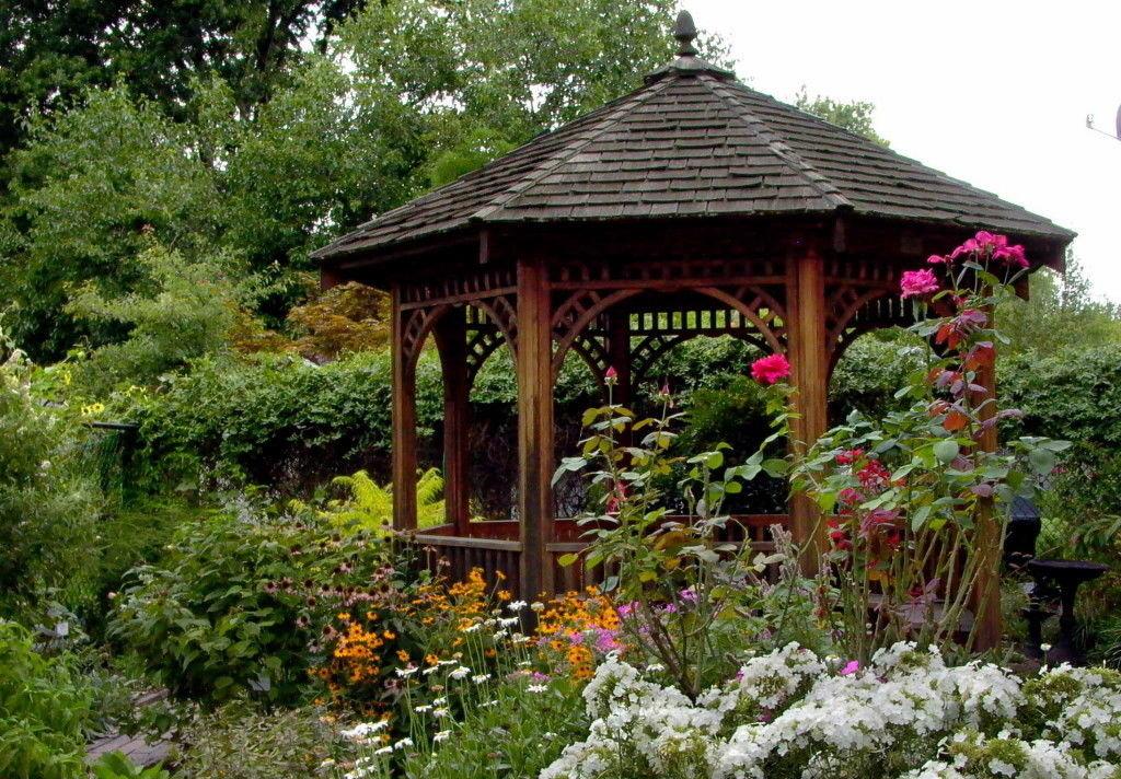 центру картинки красивого сада с беседкой михаил убеждают, что