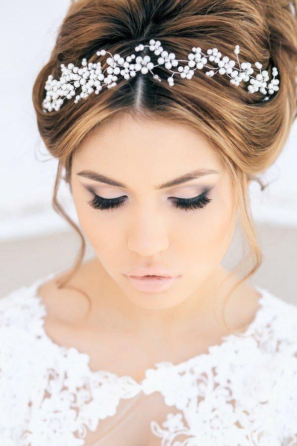 Свадебные макияж для невесты