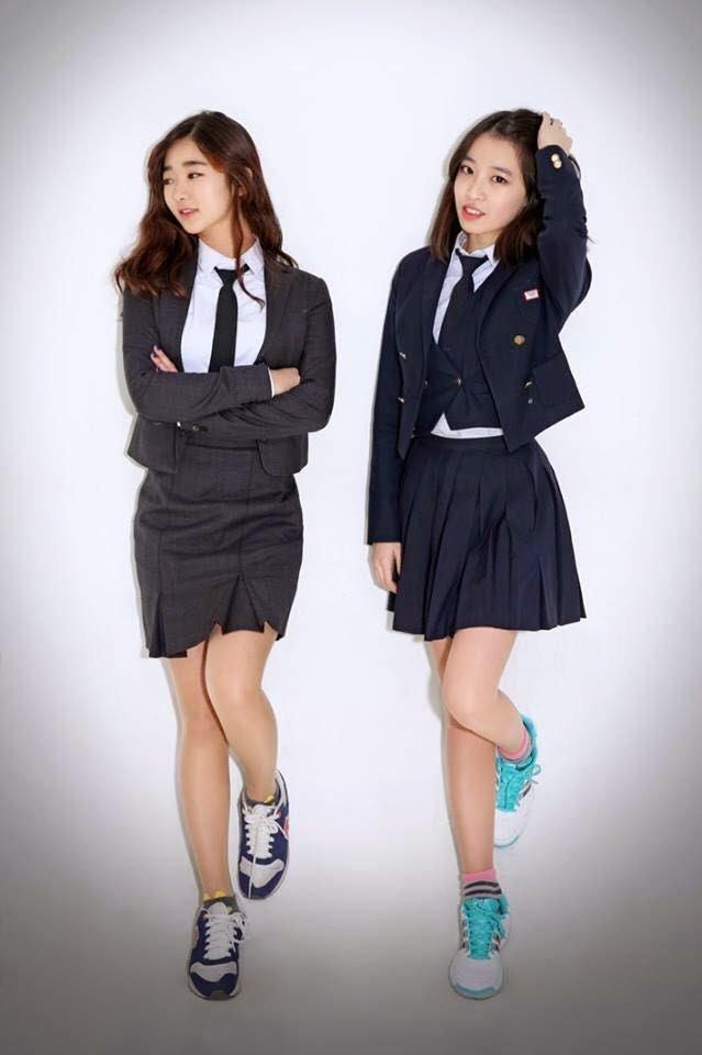 Школьная форма в корейском стиле