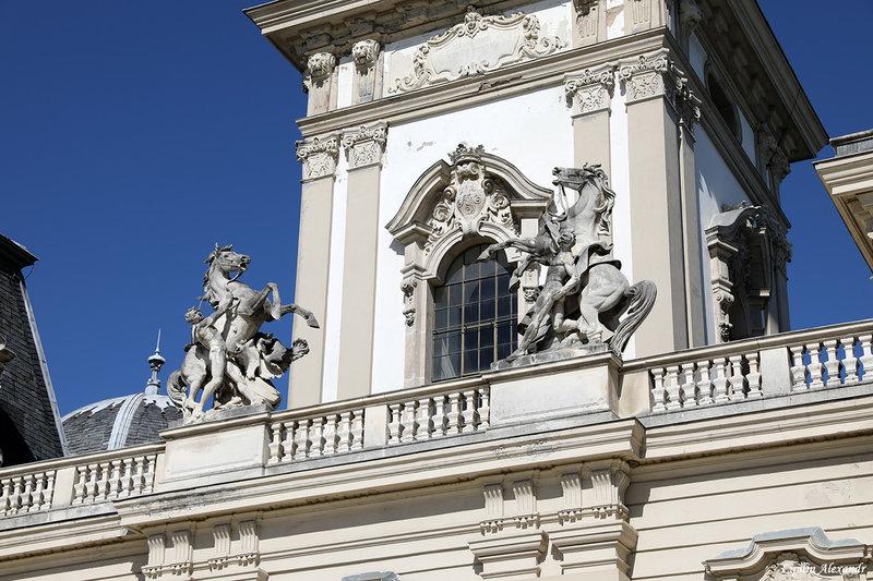 Дворец Фештетича. Согласно изначальному плану в резиденции венгерских аристократов было «всего» тридцать четыре комнаты.