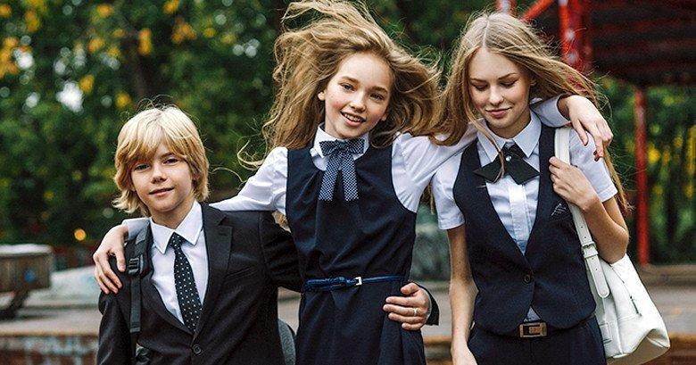 Модная школьная форма для подростков