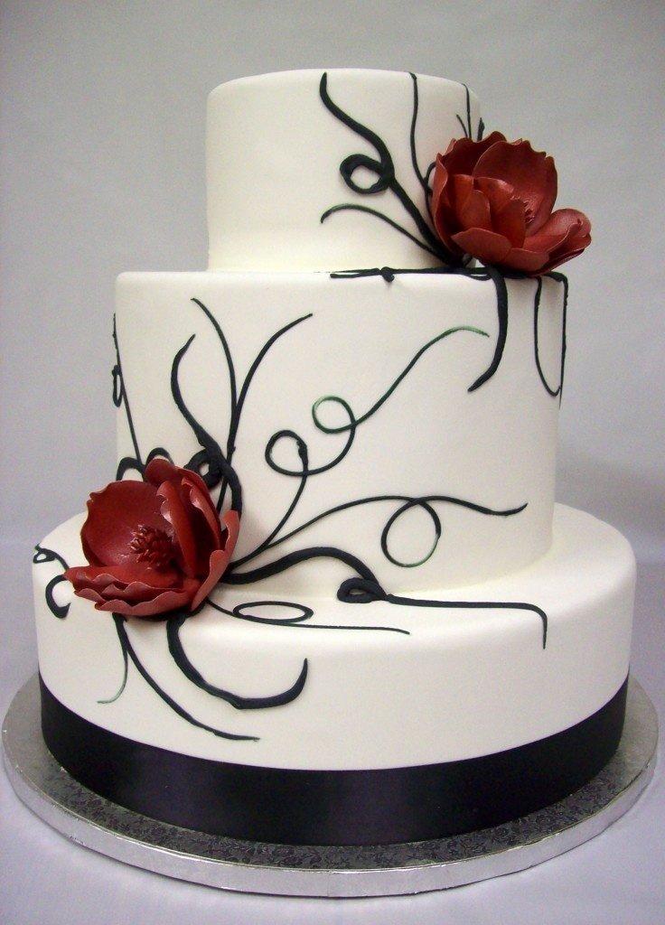 Свадебный торт фото стаханов