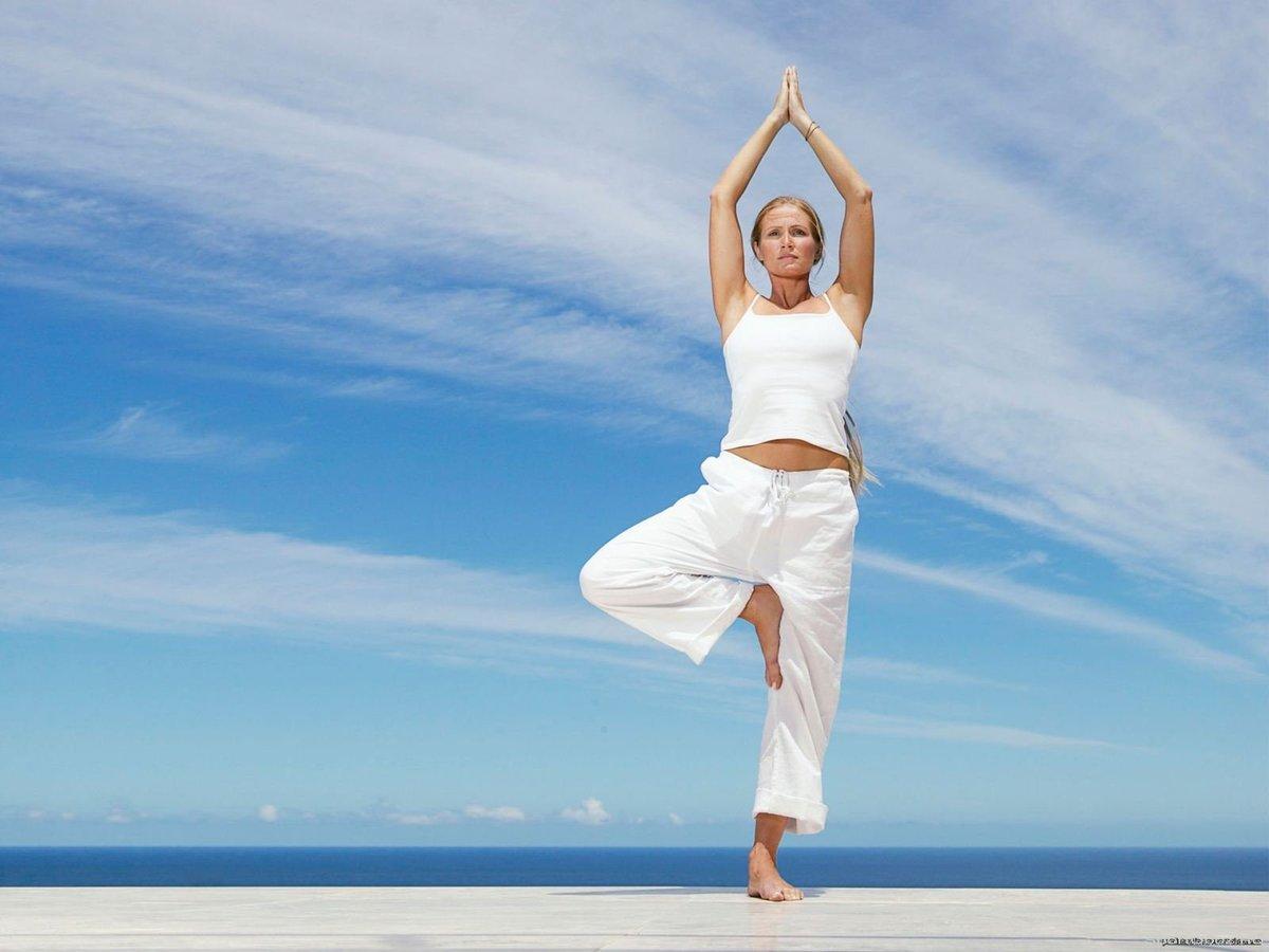 Самых красивых йога оздоровление видео в hd