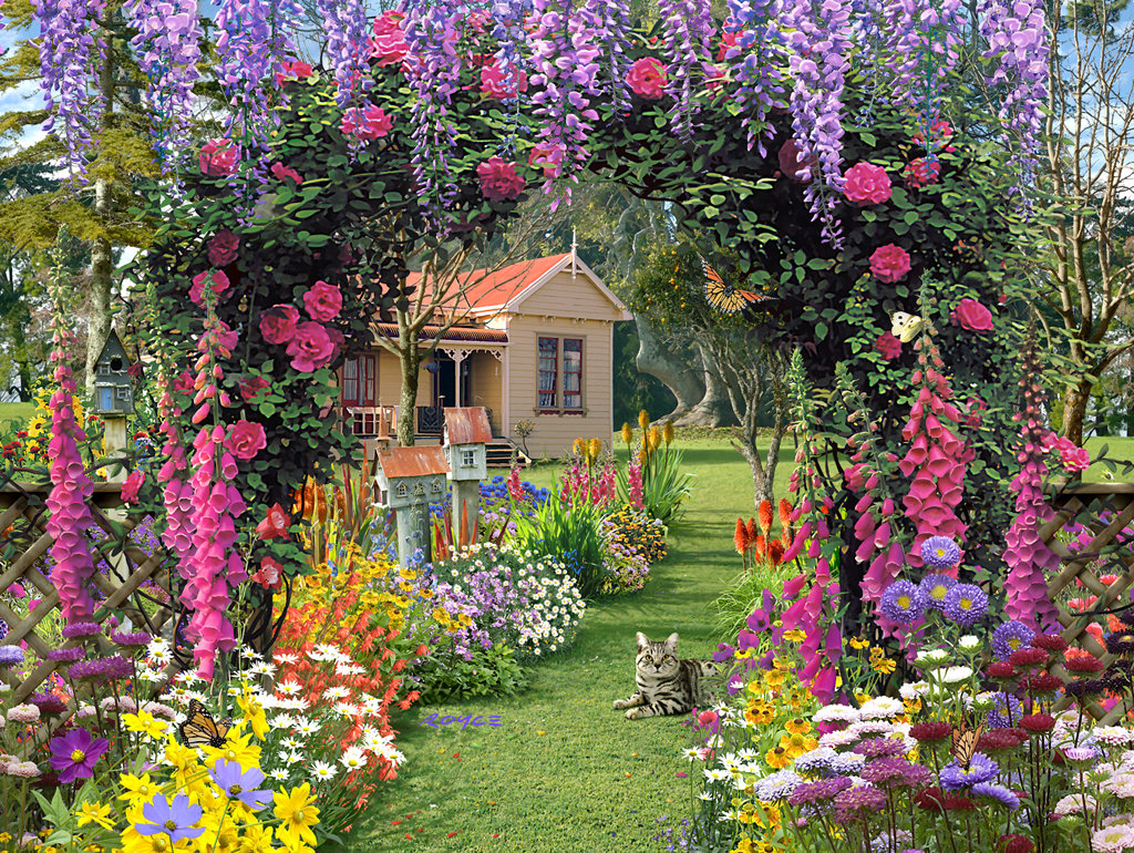 Все о даче о цветах с картинками