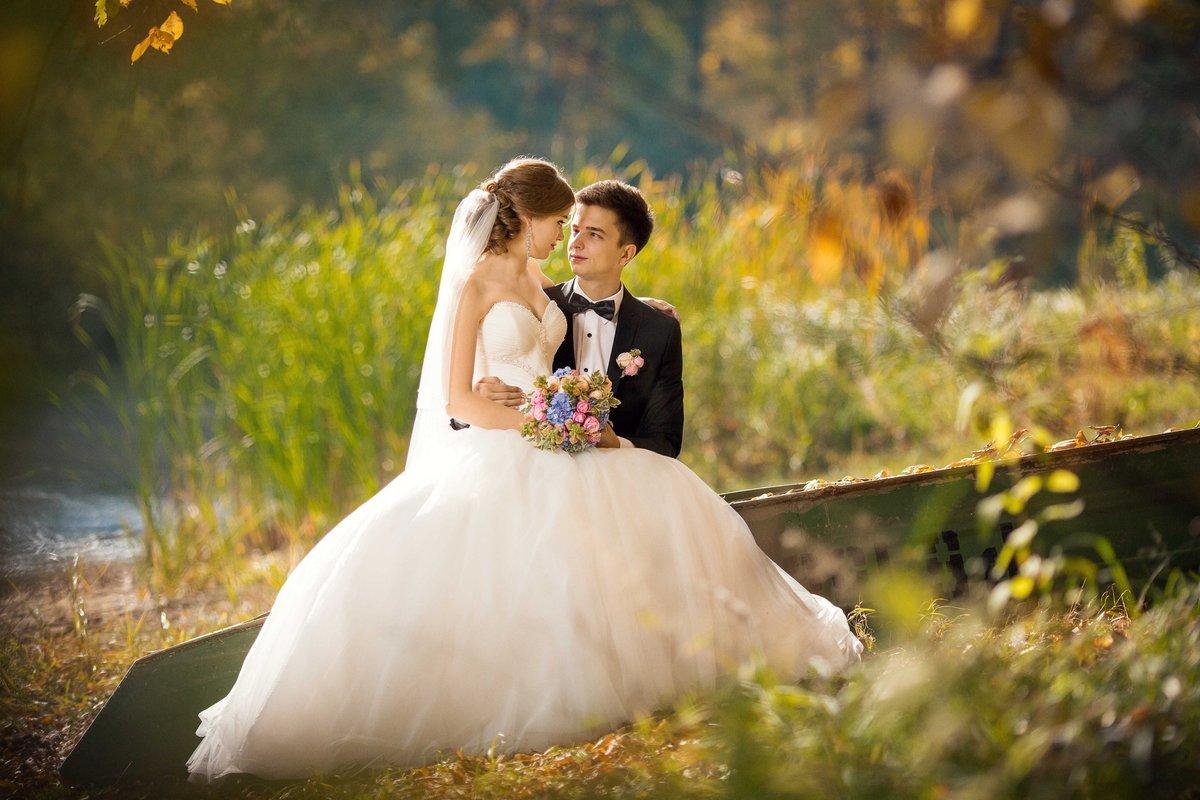 мои свадебные фотографии графическом стиле