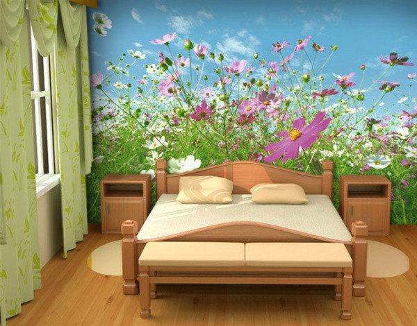 Многие комнаты принято украшать яркими крупными вставками высокого качества.