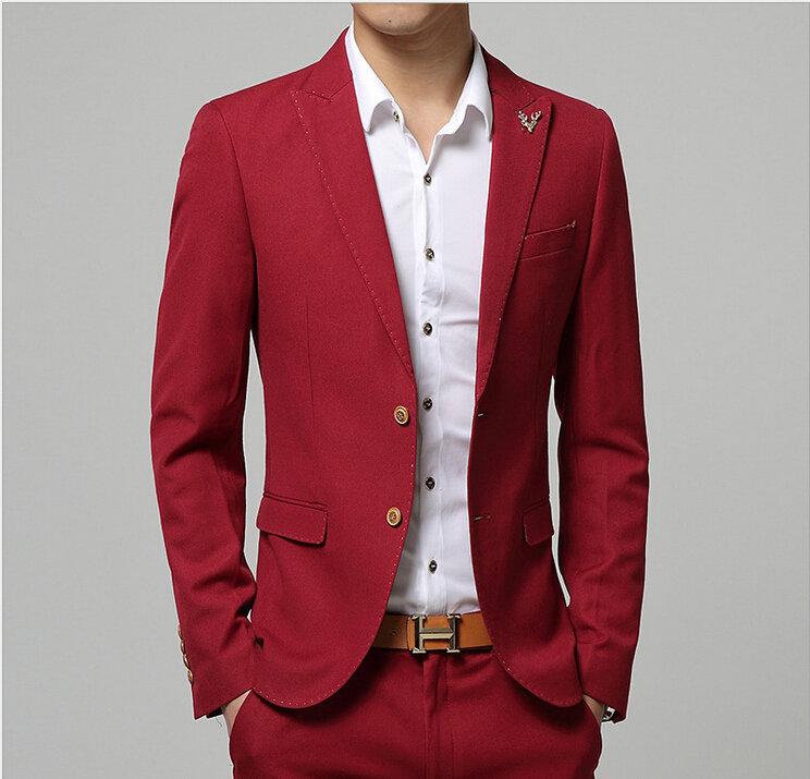 красный пиджак на мужчине сонник девушки представляют миксовую