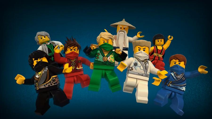 Лего ниндзя го все сезоны