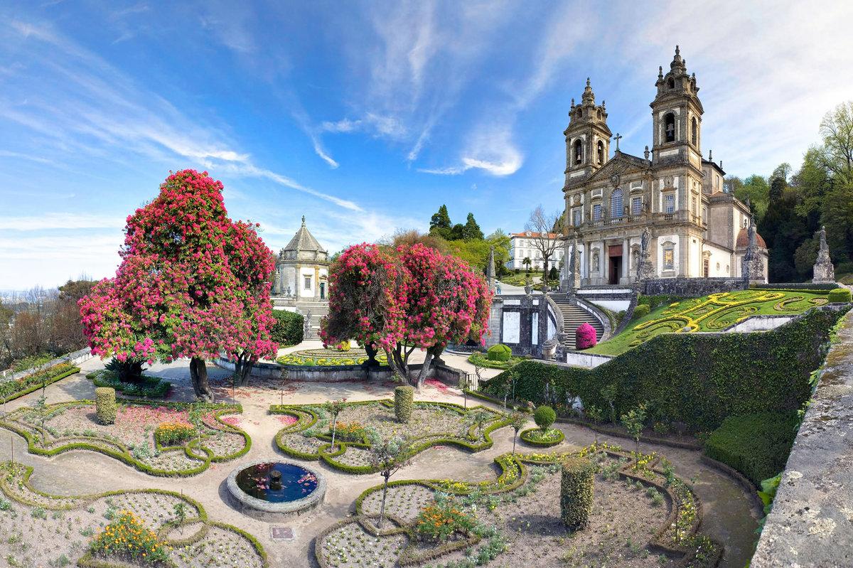 Сады и парки Португалии