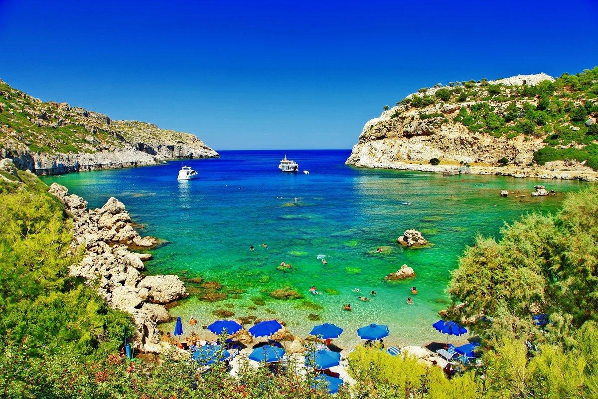 Остров Родос. Природа.