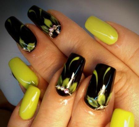 дизайн шеллака на ногтях фото 2018 новинки