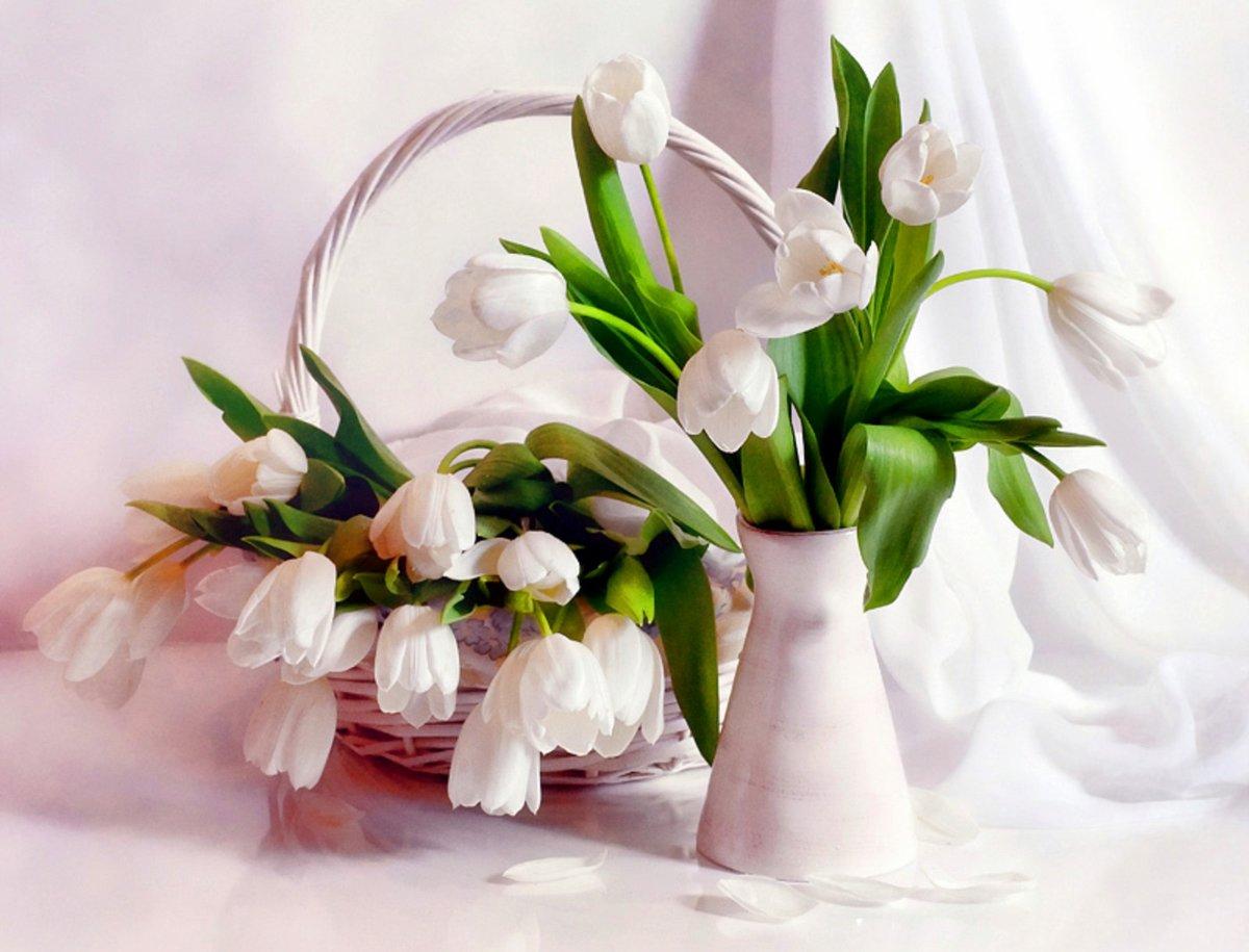 Открытки с цветами весенние