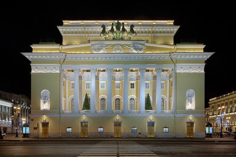 Александринский театр (он же Российский государственный академический театр драмы им. А. С. Пушкина) — петербургский театр, один из старейших драматических театров.