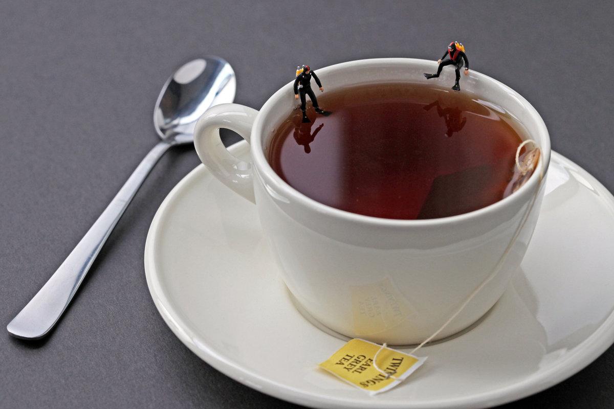 Картинки чашка чая смешные
