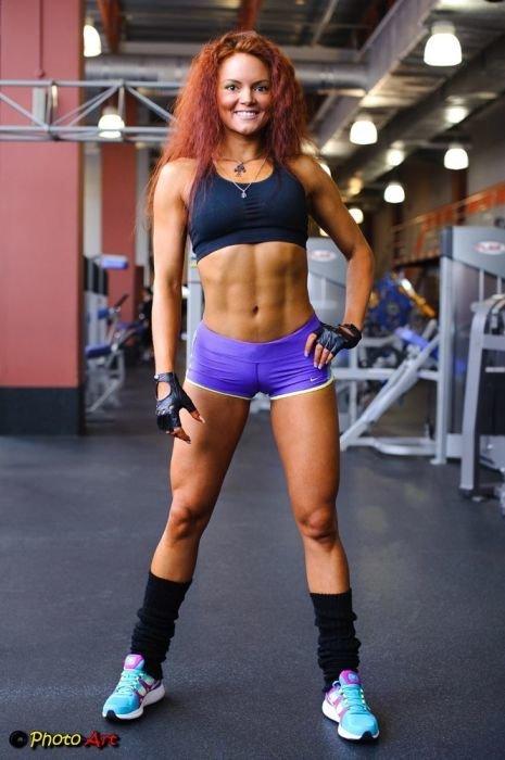 Фото рыжих спортсменок
