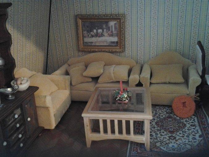 """Миниатюрная мебель для кукольных домиков"""" - карточка пользов."""
