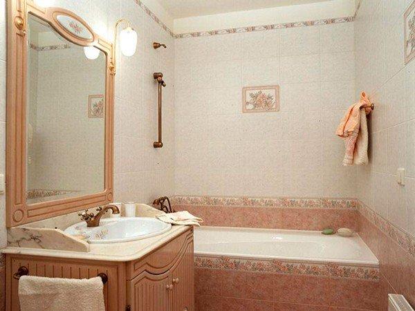 Дизайн ванной в стиле прованс.