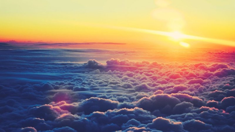 Sun And Clouds Wallpaper - Beautiful Wallpapers HD images &